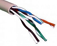 Picture of Twisted Pair Cable